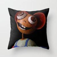 Rafa Favolas Throw Pillow
