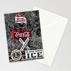 Coca Cola Americana Stationery Cards