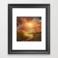 Calling The Sun XIX Framed Art Print