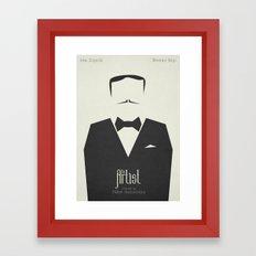 The Artist - minimal poster Framed Art Print