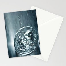 water drop 2 Stationery Cards
