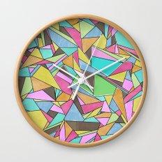 Pinata Party Wall Clock