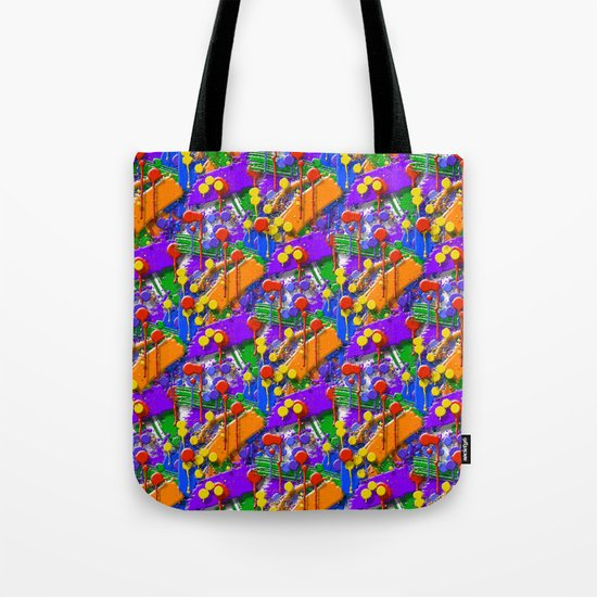The Big O (Drip Porn Pattern) Tote Bag