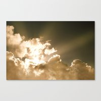 Good Morning Sunshine Canvas Print