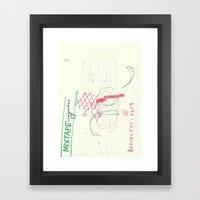 110 4  Framed Art Print