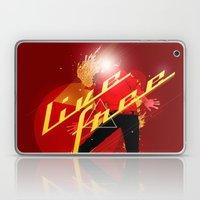 Live Free (No Limits/No Fear) Laptop & iPad Skin