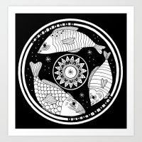 Magic Fish I Art Print
