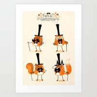 Forest Gentlemen Art Print