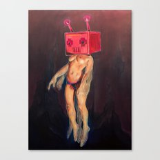 Robo-Ghost Canvas Print