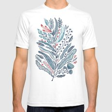 Turning Over A New Leaf Mens Fitted Tee White SMALL