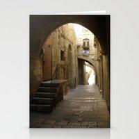 Jerusalem Archways Stationery Cards