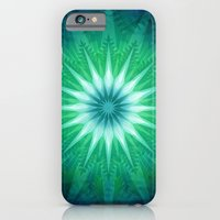 iPhone & iPod Case featuring Snowflakes by Helen Kaur