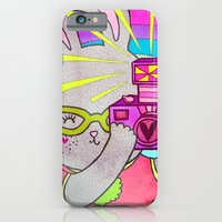 Bunny Rainbow Snapshots iPhone 6 Slim Case