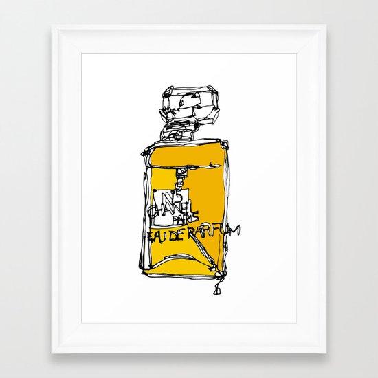 Chanel N°5 Framed Art Print