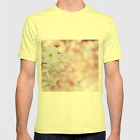 finest spring time Mens Fitted Tee Lemon SMALL