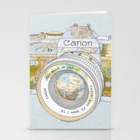 Travel Canon Stationery Cards