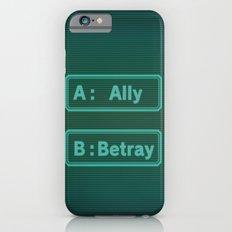 Ally Betray / Zero Escape - Virtues Last Reward iPhone 6 Slim Case