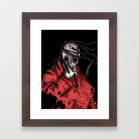 Number Eight Self Titled Framed Art Print