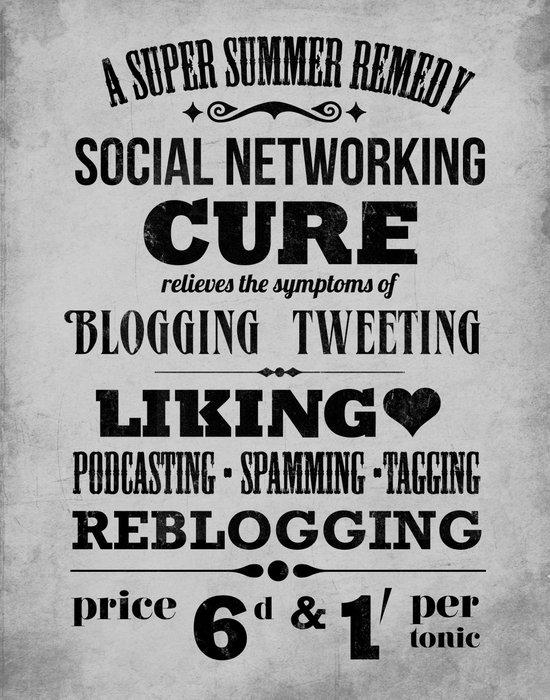 Social remedy Art Print