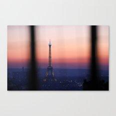 Eiffel Tour. Paris. Love. Canvas Print