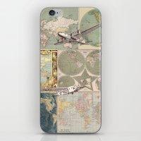 Flight Patterns iPhone & iPod Skin