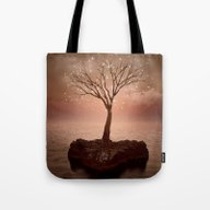 Tote Bag featuring The Strong Grows In Soli… by Soaring Anchor Desig…