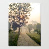 Pathway Canvas Print