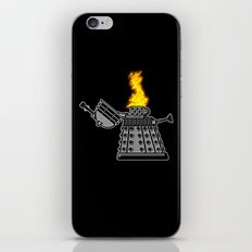 INCINERATE (with flame) iPhone & iPod Skin