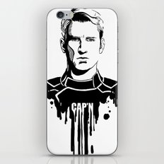 Avengers in Ink: Captain America iPhone & iPod Skin