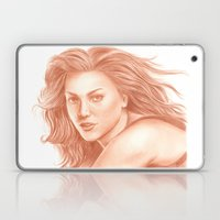 Woman Portrait 3 Laptop & iPad Skin