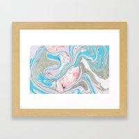 MRBL 4 Framed Art Print