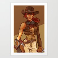 Zombie Hunter Art Print