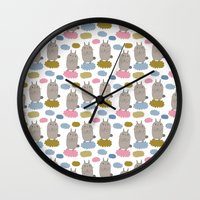 Pattern Project #20 / Bu… Wall Clock
