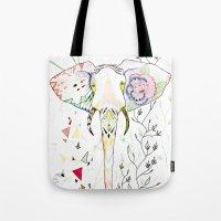 Elephant / June Tote Bag