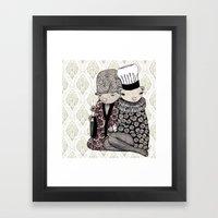 Nezumi Framed Art Print