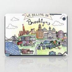 We Belong in Brooklyn iPad Case