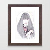 Go-Go Framed Art Print