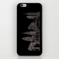 New York City by the Downtown Doodler iPhone & iPod Skin