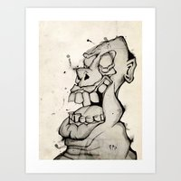 Laughter  Art Print