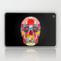 Sweet Sweet Sugar Skull On Black Laptop & iPad Skin