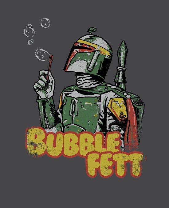 Bubble Fett Canvas Print