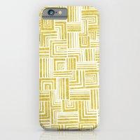Golden Doodle weave iPhone 6 Slim Case