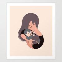 Love - Mum Art Print
