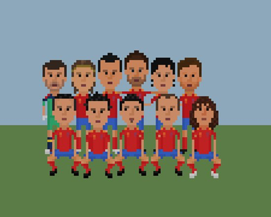 Spain World Cup Champions 2012 Art Print