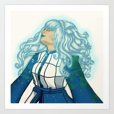 I Wanted To See The Universe Art Print