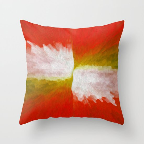 Senza Throw Pillow
