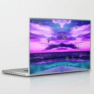 Birds In  Bubbles Laptop & iPad Skin