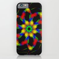 fractal iPhone & iPod Cases featuring Fractal by Marisa Lopez-Cruzan