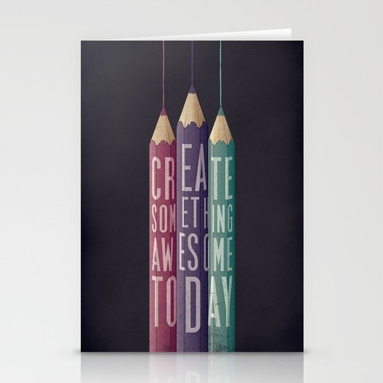 be creative Stationery Card