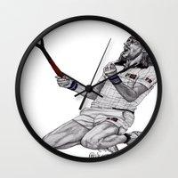Tennis Borg Wall Clock